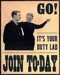 Go it's your duty poster