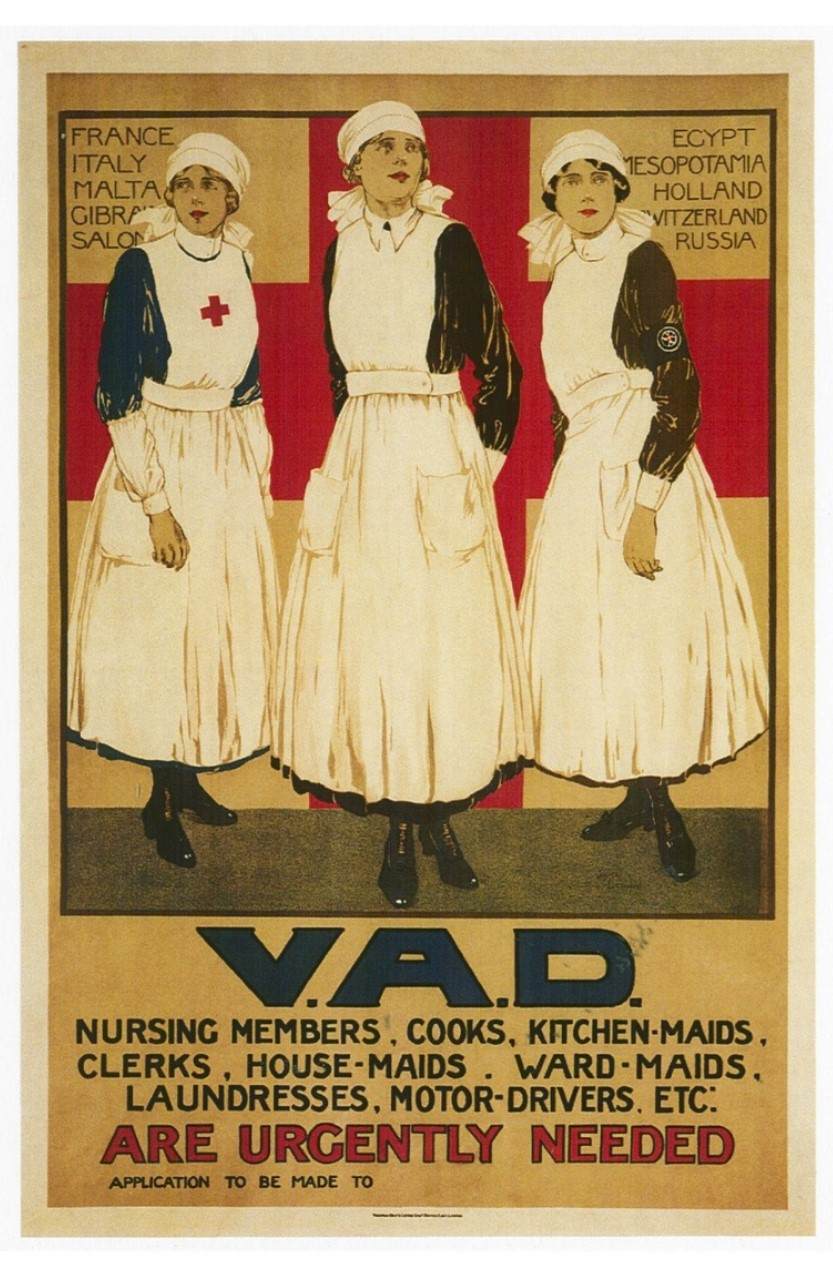 voluntary aid detachments wing heritage group during the middle of 1915 as more and more hospitals were needed to cope an increasing number of casualties vads first started working overseas in